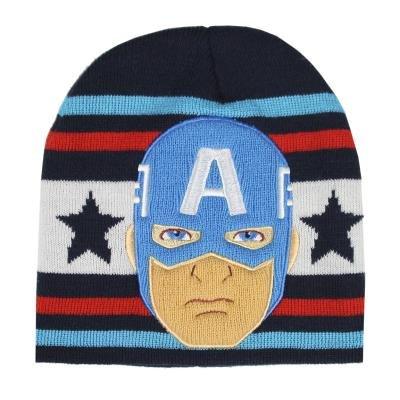 Gorro con aplicaciones avengers capitan america
