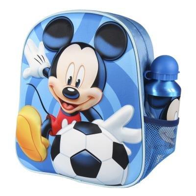 Mochila infantil 3d con accesorios mickey