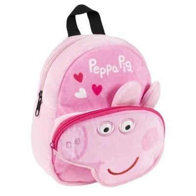 Mochila guarderia personaje peluche peppa pig
