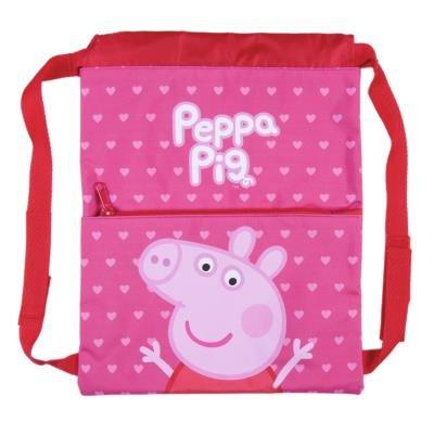 Saquito mochila peppa pig