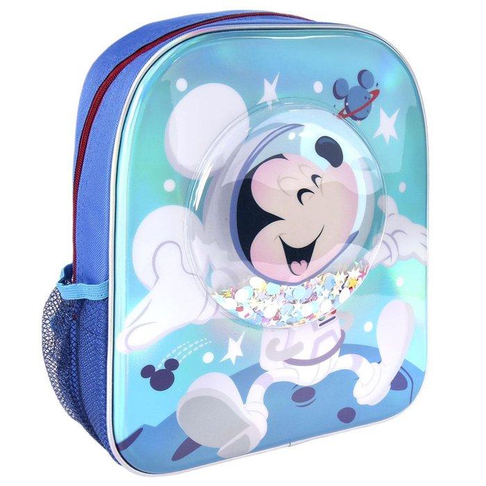 Mochila infantil 3d confetti mickey