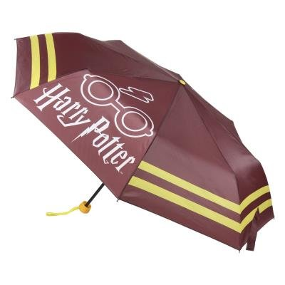 Paraguas manual plegable  granate harry potter