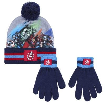 Conjunto 2 piezas gorro + guantes avengers