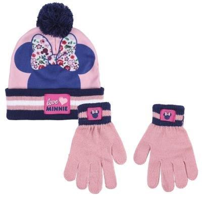 Conjunto 2 piezas gorro + guantes minnie