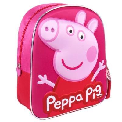 Mochila infantil 3d peppa pig