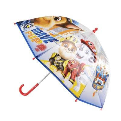 Paraguas manual poe burbuja paw patrol azul