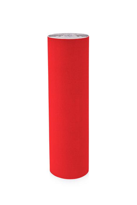 Rollo terciopelo nylon adhesivo 0,45x10m rojo