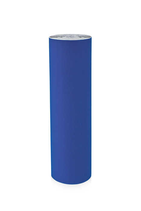 Rollo terciopelo nylon adhesivo 0,45x10m azul