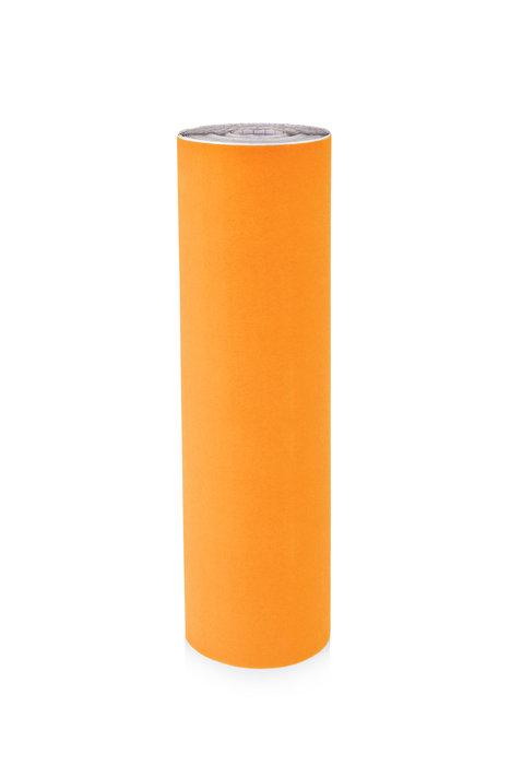 Rollo terciopelo nylon adhesivo 0,45x10m naranja