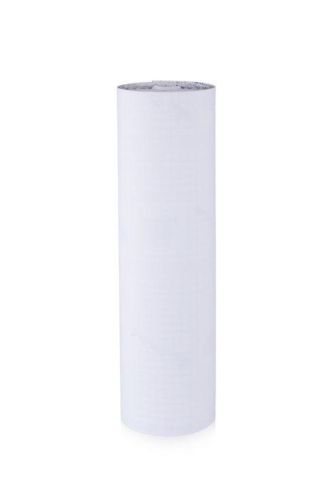 Rollo terciopelo nylon adhesivo 0,45x10m blanco