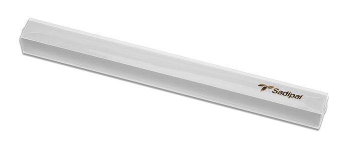 Rollo terciopelo nylon adhesivo 0,45x1m blanco