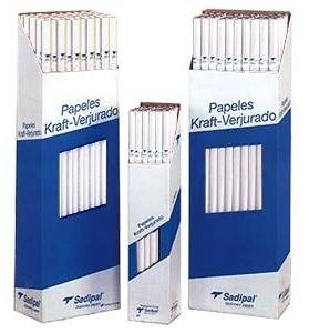 Papel kraft rollo 50 metros blanco
