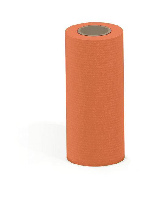 Papel kraft verjurado bobina mostrador 31cm 3 kg naranja