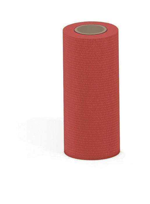 Papel kraft verjurado bobina mostrador 31 cm 3 kg rojo