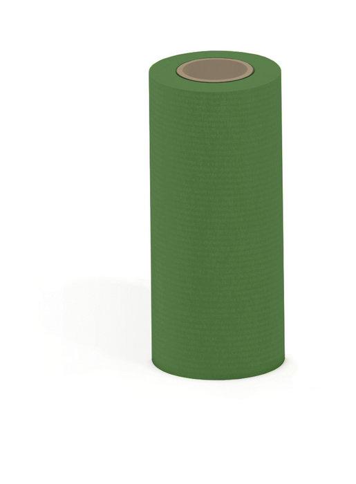Papel kraft verjurado bobina mostrador 31cm 3kg verde musgo