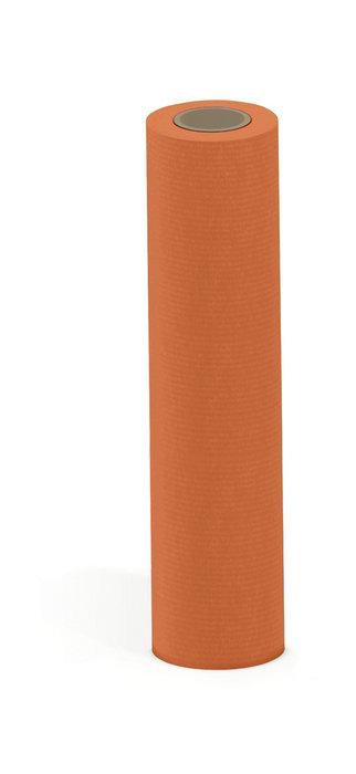Papel kraft verjurado bobina mostrador 62 cm 6 kg naranja