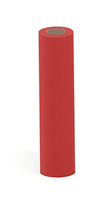 Papel kraft verjurado bobina mostrador 62 cm 6 kg rojo