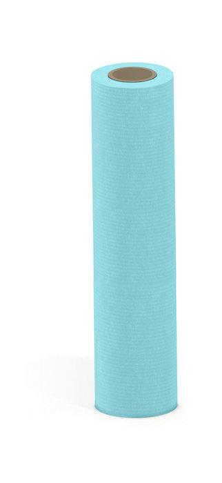 Papel kraft verjurado bobina mostrador 62cm 6kg turquesa