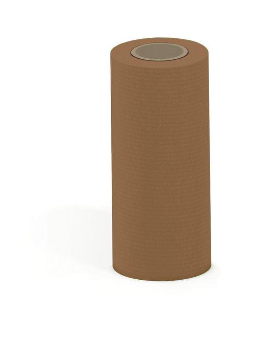 Papel kraft verjurado bobina mostrador 31 cm 3 kg marron