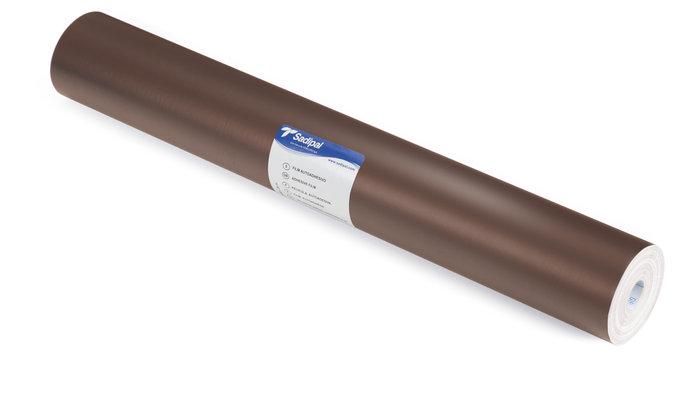 Film adhesivo 0,50x20m  mate marron