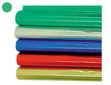 Papel metalizado rollo 10m verde