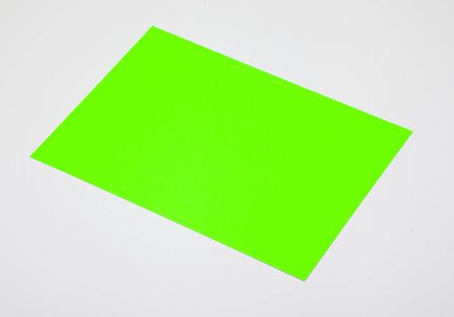 Cartulina fluorescente verde 50x65