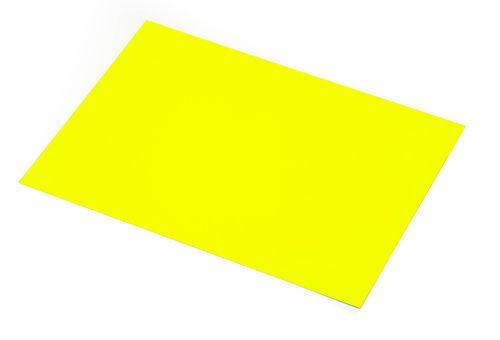 Cartulina fluorescente amarilla 50x65