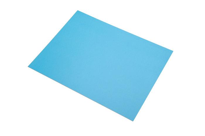 Cartulina fabriano 185gr a4 50u azul turquesa