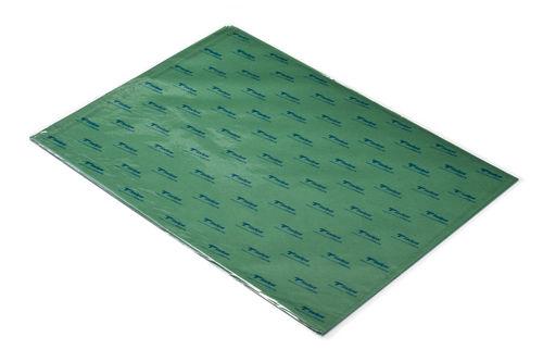 Papel seda verde fuerte