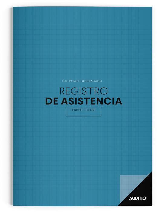 Cuaderno escolar registro de asistencia