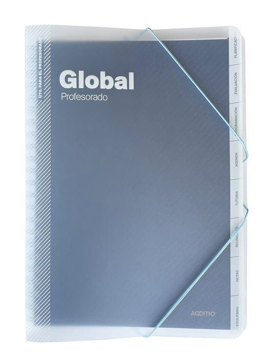 Cuaderno escolar global profesorado