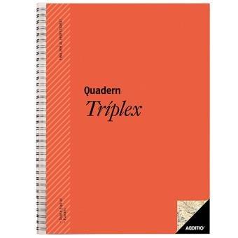 Cuaderno triplex catalan colores surtidos