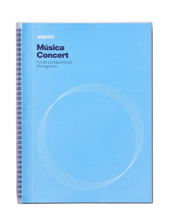 Carpeta musica concert portapartituras