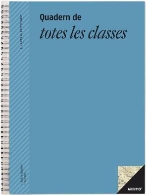 Cuaderno escolar de todas las clases catalan/valenciano