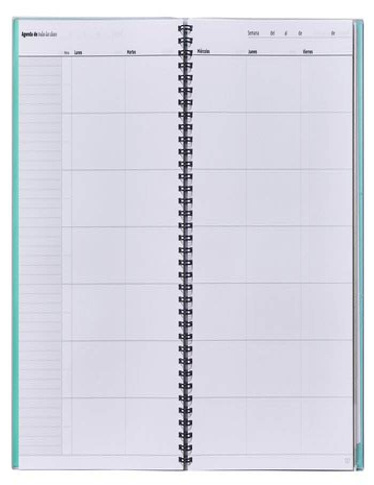 Cuaderno escolar de todas las clases s/v