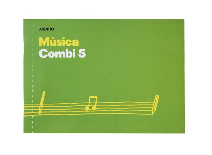 Cuaderno musica combi 5