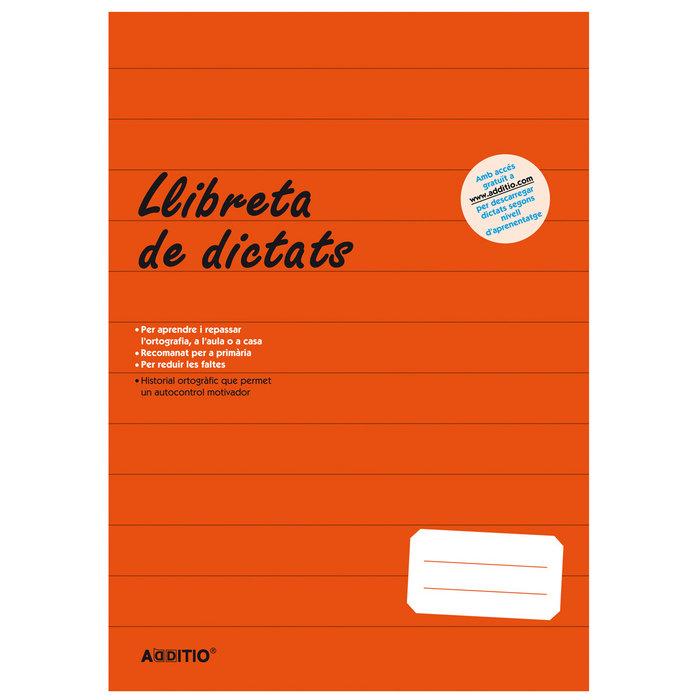 Libreta dictados primaria en