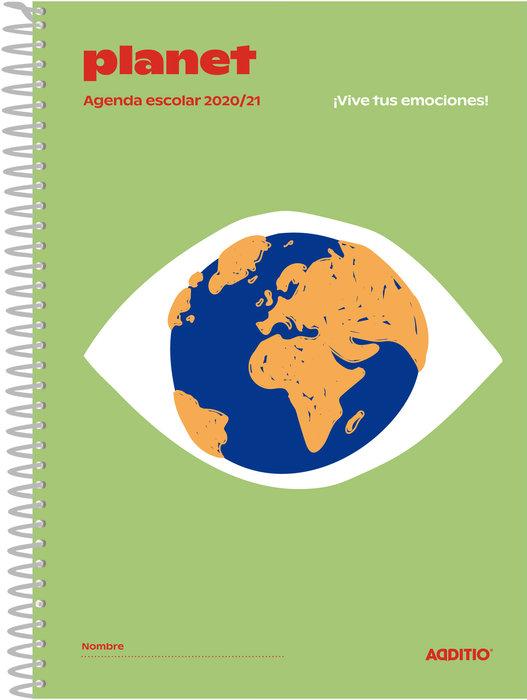 Agenda escolar planet a122 2020-2021