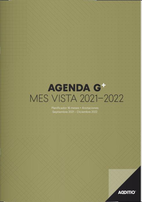 Agenda 16 meses g plus + anotaciones 2021-2022