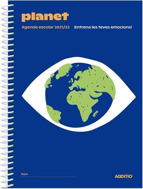 Agenda escolar catalan planet a122 2021-2022