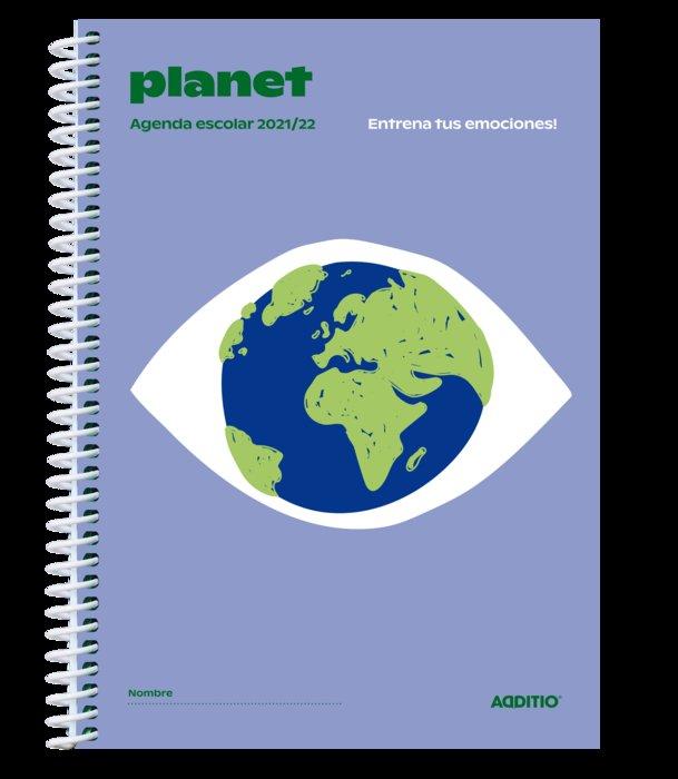 Agenda escolar planet semana vista a122 2021-2022