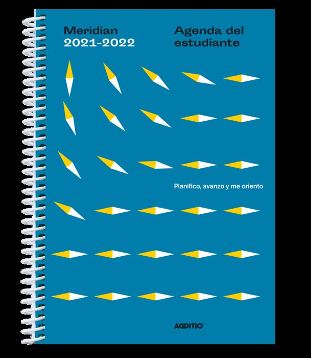Agenda escolar meridian a132 2021-2022