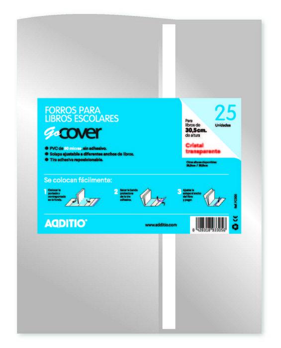 Forro gocover cristal 30.5 cm