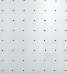 Bobina pp transparente 0.8x50m topos rojos 3158021