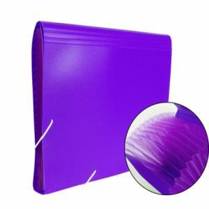 Carpeta clasificadora fuelle a4 13dpto lila