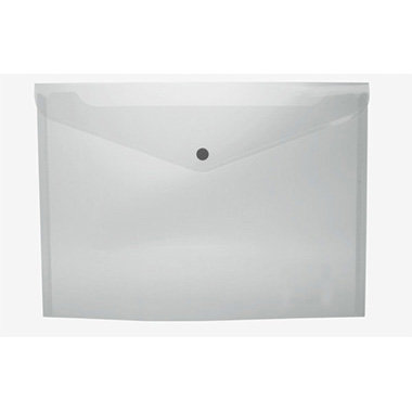 Sobre portadocumentos pp a4 con broche transparente