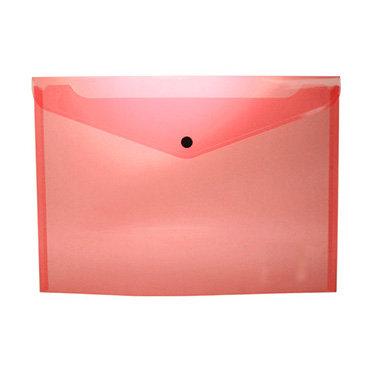 Sobre portadocumentos pp a4 con broche rojo