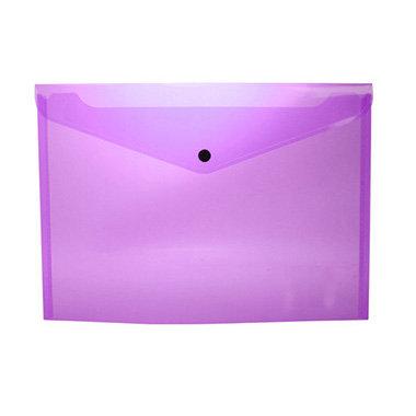 Sobre portadocumentos pp a4 con broche lila