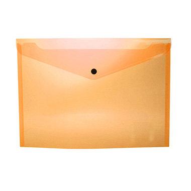 Sobre portadocumentos pp a4 con broche naranja
