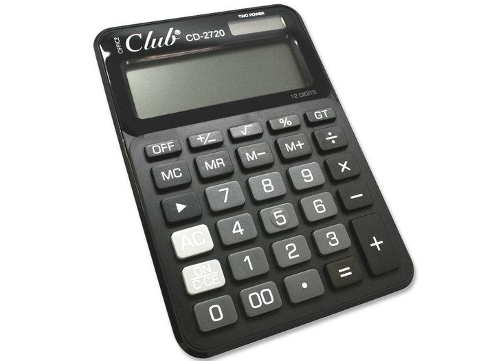 Calculadora office cd-2720-12 negro ingraf